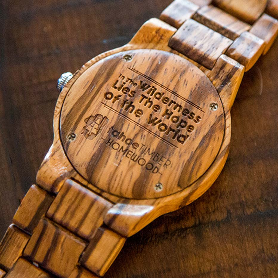 collections watches engraved watch tree hut wooden black bamboo leather and treehut wood custom